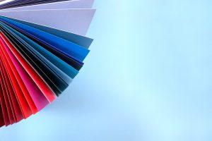 Carpetas estándar de colores